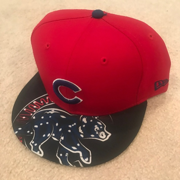 NEW ERA 59FIFTY Chicago Cubs Baseball Hat d90832dfe70
